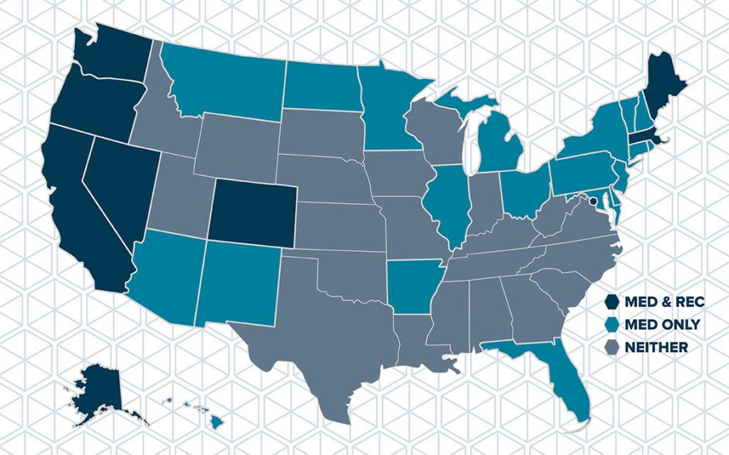 The Clinic | Legal Marijuana Turns America Green